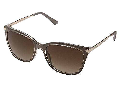 (GUESS Women's GU7483 Shiny Beige/Gradient Brown One Size)