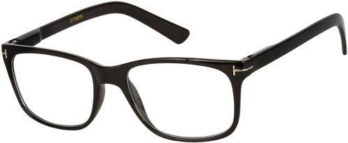 Readers.com The Draper +2.25 Black The Draper Retro Style Retro Square Reading - Look Draper Don
