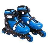 Patins Inline Roller Radical Azul - Tam M 33 a 36