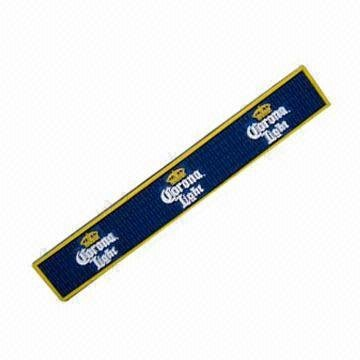 Corona Light Professional Bar Mat Spill Mat Rail Drip ()