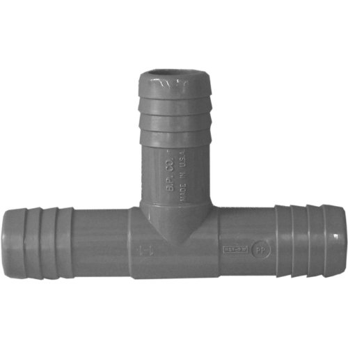 (Genova Products C351407 3/4-Inch Plumbing/Irrigation Poly Insert Pipe Tee - 10 Pack)