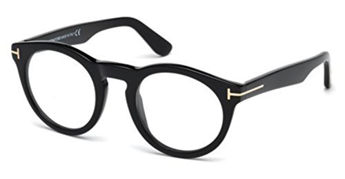 TOM FORD Eyeglasses FT5459 001 Shiny - For Men Ford Clothes Tom