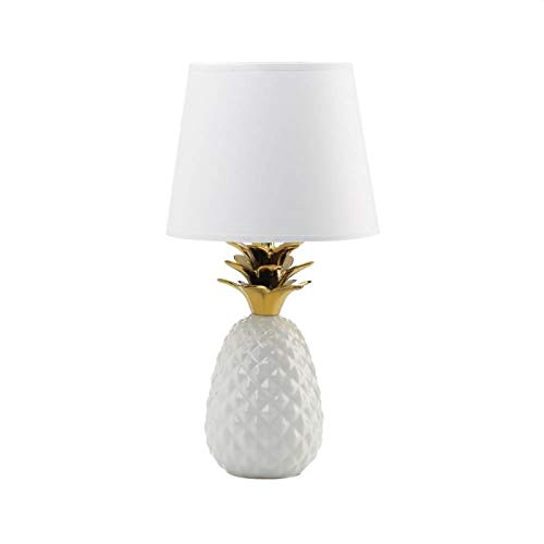 Gordon' Enterprise Gold Topped Pineapple Lamp