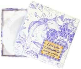 Greenwich Bay Dusting Powder- Fragranced Body Powder for Women, NO TALC, All Natural Ingredients w/puff 4 Oz.(Lavender Chamomile)