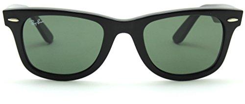 50mm Wayfarer Unisex Rb2140 901 ban Ray Black Sunglasses Original Classic AxnTt7zUw