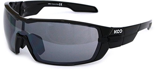 Kask Koo Open Black with Smoke Mirror Lenses ()