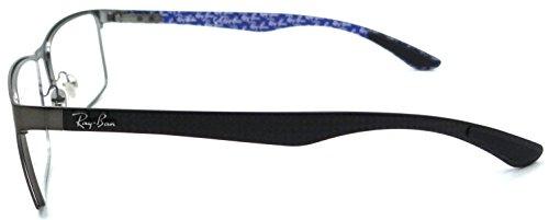 d620ff3512 Ray-ban Rx Eyeglasses Frames Rb 8415 2620 55x17 Matte Gunmetal ...