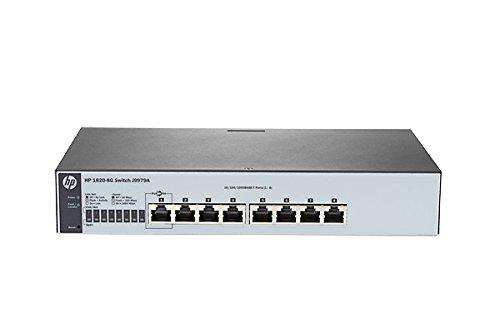 3 opinioni per HP 1820-8G Switch, 8 Port, Argento