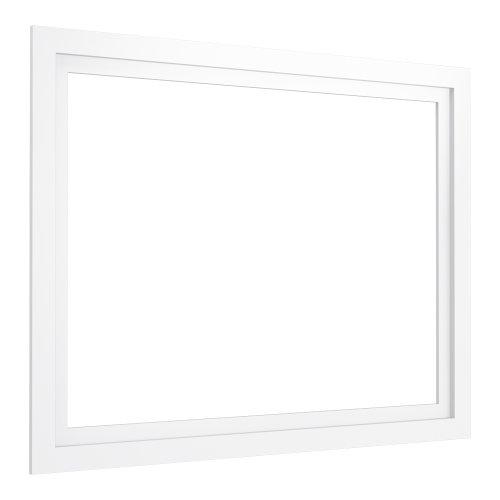 (KOHLER K-99661-40-1WA Jacquard Medicine Cabinet Surround, 40-Inch, Linen White)