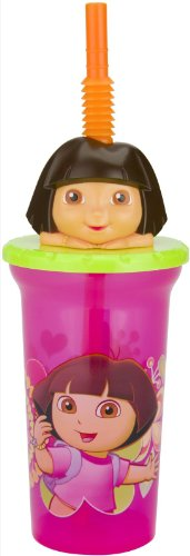 Zak! Designs Buddy Sip Cup - Dora - 15 oz