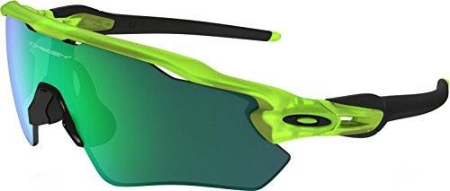 Oakley Boys' Radar Ev Xs Path Non-Polarized Iridium Rectangular Sunglasses, Matte Uranium, 31 - Radar Polarized Oakley Ev Path