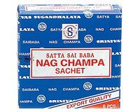 Nag Champa Sachet - Six Pack - From Satya Sai Baba - incensecentral.us