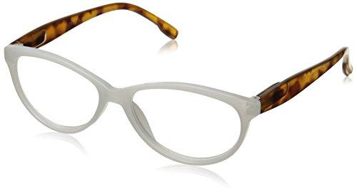 (Peepers Women's Birds of Paradise 2247250 Cateye Reading Glasses, White,)