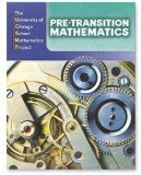 Pre-Transition Mathematics, Vol. 1 Teacher's Edition