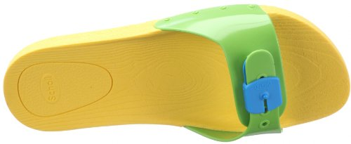 Sandales lime Scholl yellow Green Pop Gelb Femme 1576 turquoise XrwHq5xw