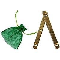 Marutham Dhayakattai - Pachikalu Dice - Traditional Brass Dhayakattai Dice