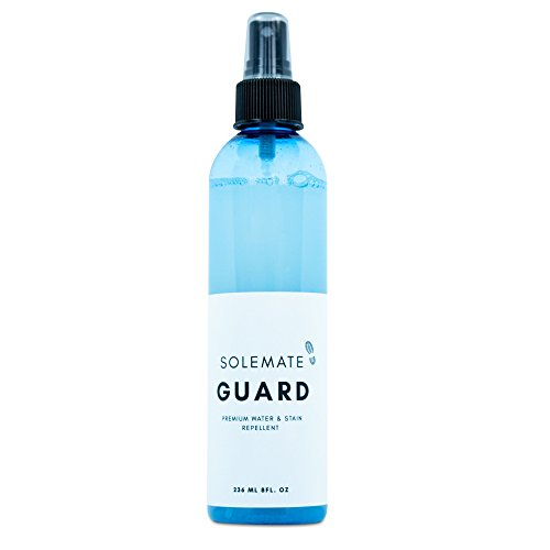 Solemate Guard - Premium Water & Stain Repellent - Waterproof and Protect Suede, Leather, Nubuck, Fabric, Nylon, Polyester & More - Sneakerhead Protector for All Sneakers, Shoes, Boots, (Guard Repellent)