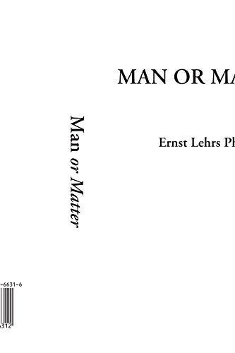 Man or Matter by IndyPublish