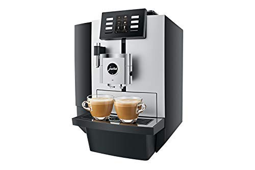(Jura X8 Platinum Automatic Espresso & Cappuccino Machine with Touch Screen)