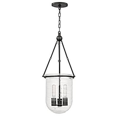 Willet 1-Light Pendant - Polished Nickel Finish with Clear Glass Shade