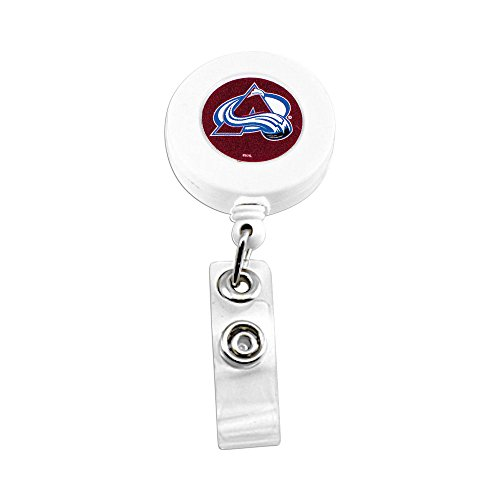 aminco NHL Colorado Avalanche NHL-BH-862-15 Badge Holder, One Size, Multicolor