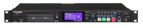 (Tascam SS-CDR200 Single-Space Rackmount Solid State/CD-RW Recorder)
