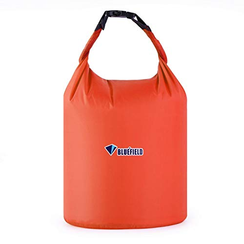 Liobaba Waterproof Dry Bag with Adjustable Detachable Strap 10L,Roll Top Sack Keeps Gear Dry for Kayaking, Boating, Canoeing, Fishing, Drifting, Swimming, Camping,Snowboarding