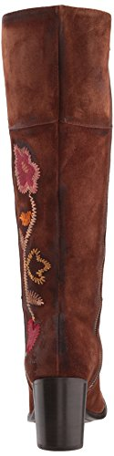 Frye Womens Nova Flower Tall Boot Brown