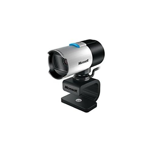 chollos oferta descuentos barato Microsoft LifeCam Studio Webcam Seguimiento de Cara Full HD función de Foto micrófono Incorporado Tipo de Montaje Clip Stand trípode montable Negro y Plata