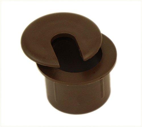 Brown Desk Grommet (MyCableMart 1
