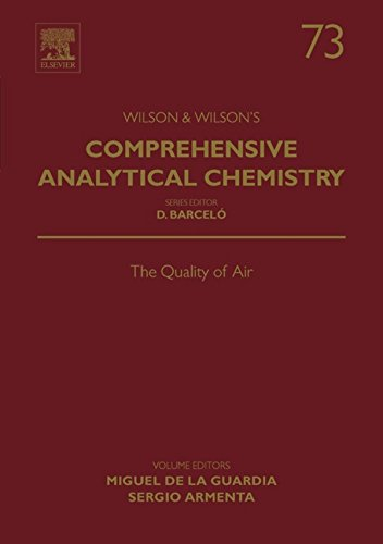 The Quality of Air: 73 (Comprehensive Analytical Chemistry) - Chemistry Tile