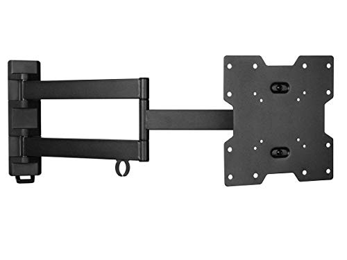 (Monoprice Stable Series Full-Motion Articulating TV Wall Mount Bracket - for TVs 20in to 42in Max Weight 77lbs Extension Range of 2.2in to 24.0in VESA Patterns Up to 200x200 UL)