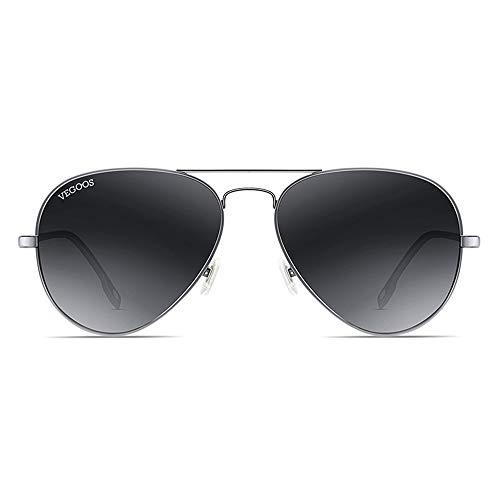 polarizados Sol Rana KHIAD Hombres de conducción Gafas Espejo Espejo UqISP