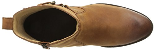 Sebago Womens Nashoba Low Waterproof Rain Boot Brown Leather Wp