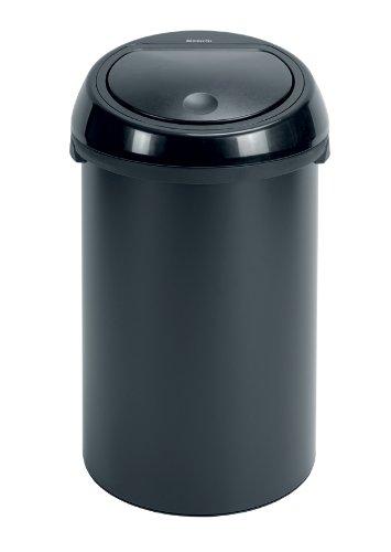 poubelle brabantia 50 l touch bin. Black Bedroom Furniture Sets. Home Design Ideas
