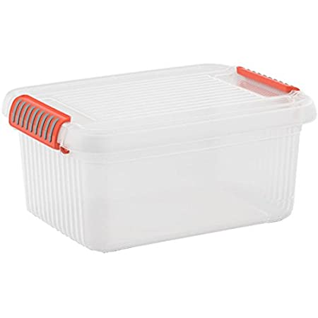 Kis K Latch Storage Box Transparent/Orange 14 Litre  sc 1 st  Amazon UK & Kis K Latch Storage Box Transparent/Orange 14 Litre: Amazon.co.uk ...