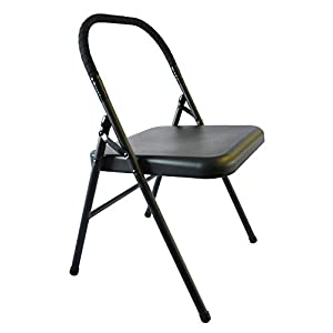 Well-Being-Matters 31IVfTeFd2L._SS300_ Pune Yoga Chair - Black Chair with Black Wrap
