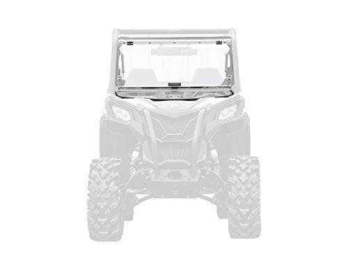 (SuperATV Scratch Resistant Flip Windshield for Can-Am Maverick Sport 1000 (2019+) - Easy to Install!)