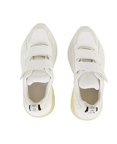 Polyester 501776W1FA49042 Stella Baskets Femme Blanc McCartney YR4x0qI