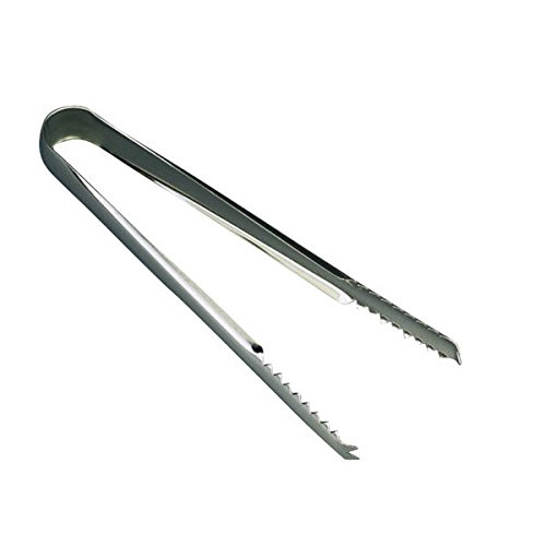 Wiltshire Bar B Tongs: Genware Stainless Steel Ice Tongs 6.5inch