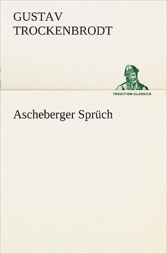 Ascheberger Sprüch (TREDITION CLASSICS)