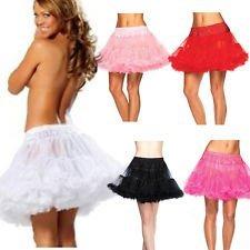 Boolavard /® 50s 18 Retro Sottogonna Vintage Petticoat Fancy Net Gonna Rockabilly Tutu Nero