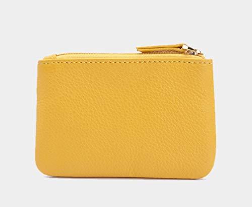 Moneta Cuoio Personalità Borse Delle Creativa Della Modo Ginger Sottili Borsa Di Yellow aZ4pTcq