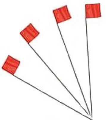 Irwin Industrial Tool 4935206 25-Pack Glow Orange Stake Flags - Quantity 1 ()