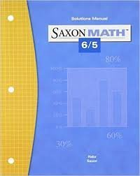 SaxonMath 6/5 Solutions Manual