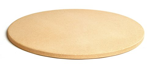 "Pizzacraft 16.5"" Round ThermaBond Baking/Pizza Stone - For Oven or Grill - PC9898"