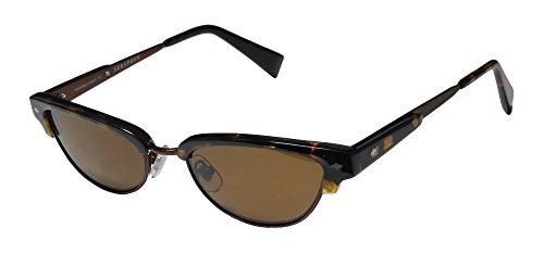 Seraphin Knox Sun Mens/Womens Cat Eye Full-rim Polarized Lenses Sunglasses/Eyewear (51-18-145, Havana / - Seraphin Sunglasses