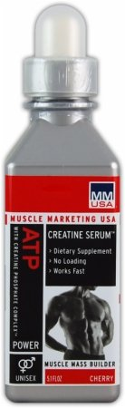 ATP Creatine Serum Advantage, FRAMBOISE, 30 Portions, du marketing Muscle