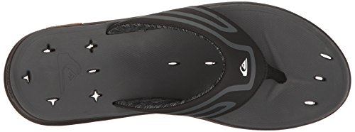 Amphibian Plus Quiksilver Quiksilver Black Mens Black Sandal Grey Mens qwUtxx7A