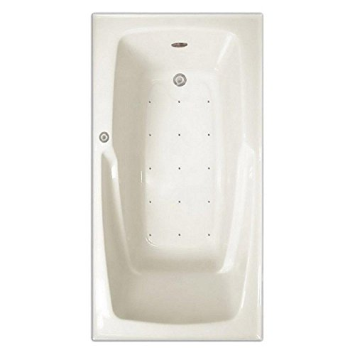 Signature Bath LPI16-A-RD Drop-In Air Injection Bathtub with Stainless Jets - Right Drain, (Air Jet Bathtub)